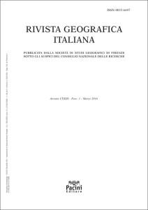 Rivista Geografica Italiana