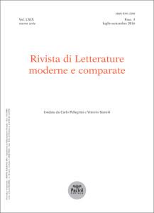 Rivista di Letterature moderne e comparate