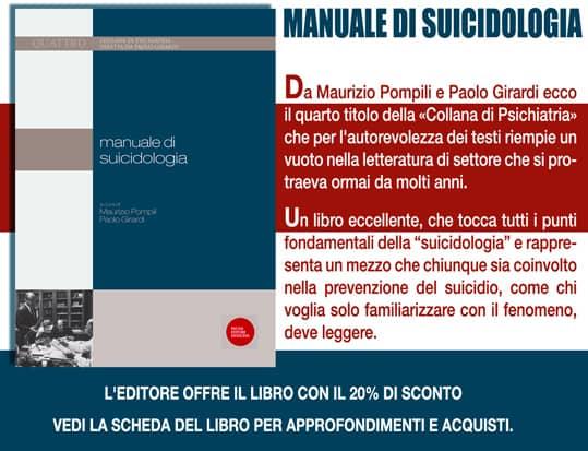 Promo Manuale di Suicidologia