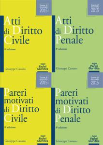 Atti e Pareri di Diritto Civile e Penale - in 4 volumi