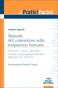 Manuale del contenzioso sulla trasparenza bancaria