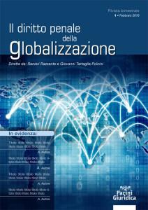 Diritto penale della globalizzazione