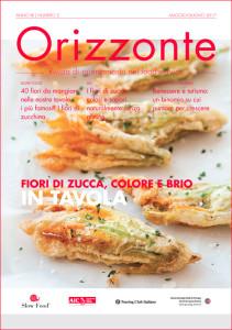 ORIZZONTE - anno XII - numero 3 - maggio/giugno 2017 - Rivista di orientamento del food service