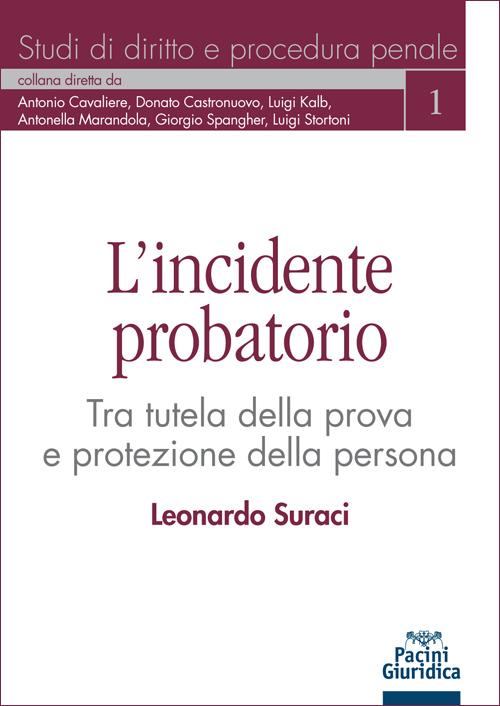 L'incidente probatorio - Tra tutela della prova e protezione della persona