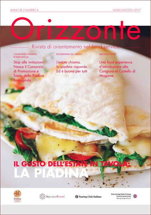 ORIZZONTE - anno XII - numero 4 - luglio/agosto 2017 - Rivista di orientamento del food service
