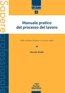 Manuale pratico del processo del lavoro - Dalla riforma Fornero al Lavoro Agile
