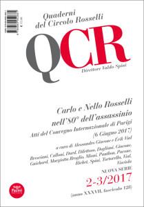 QCR Quaderni del Circolo Rosselli 2-3:2017