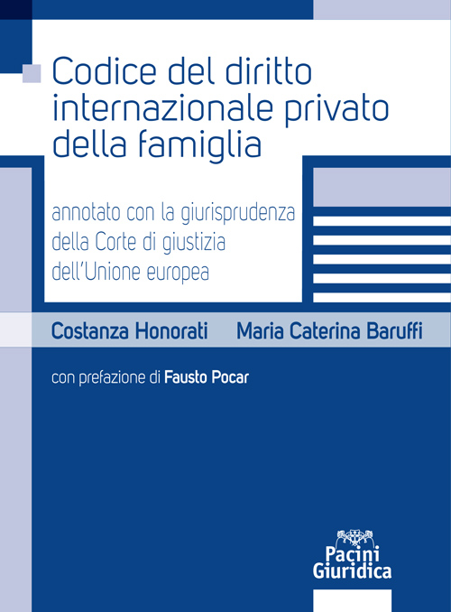 Codice del diritto internazionale privato della famiglia