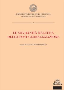 Le sovranità nell'era della post globalizzazione