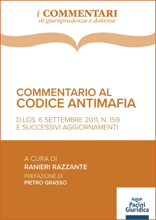 Commentario al codice antimafia