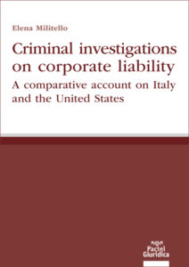 Criminal investigations on corporate liability