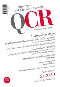 QCR Quaderni del Circolo Rosselli 2-2020 (anno XL, fascicolo 138) - Costruire il dopo