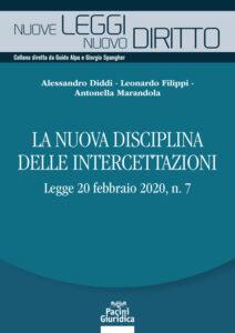 La nuova disciplina delle intercettazioni - Legge 20 febbraio 2020, n. 7